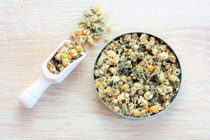 Chamomile and Mint Herbal Tea