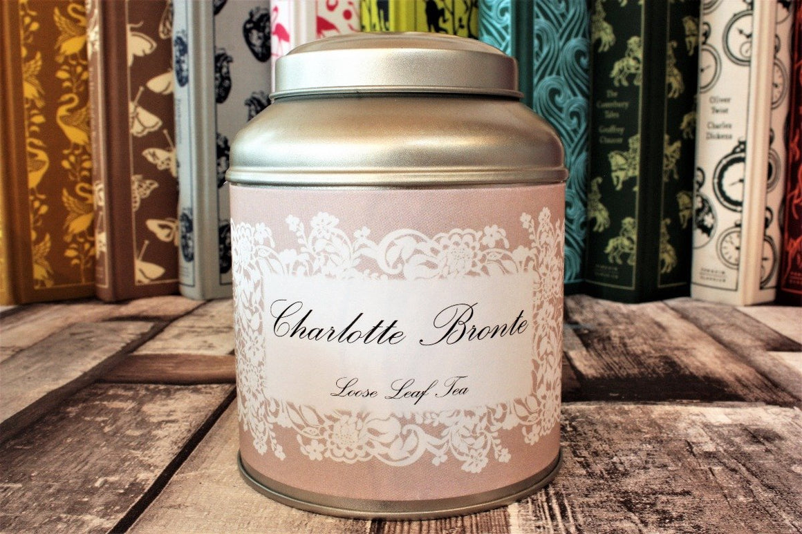 Charlotte Bronte Tea Caddy Gift