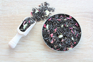 cherry and almond loose leaf tea
