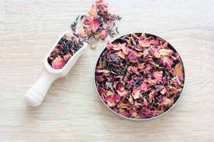 chocolate rose loose tea