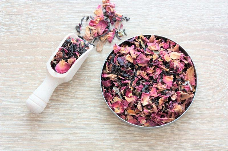 Chocolate Rose Loose Leaf Tea