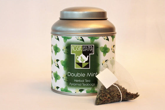 Double Mint Pyramid Teabags