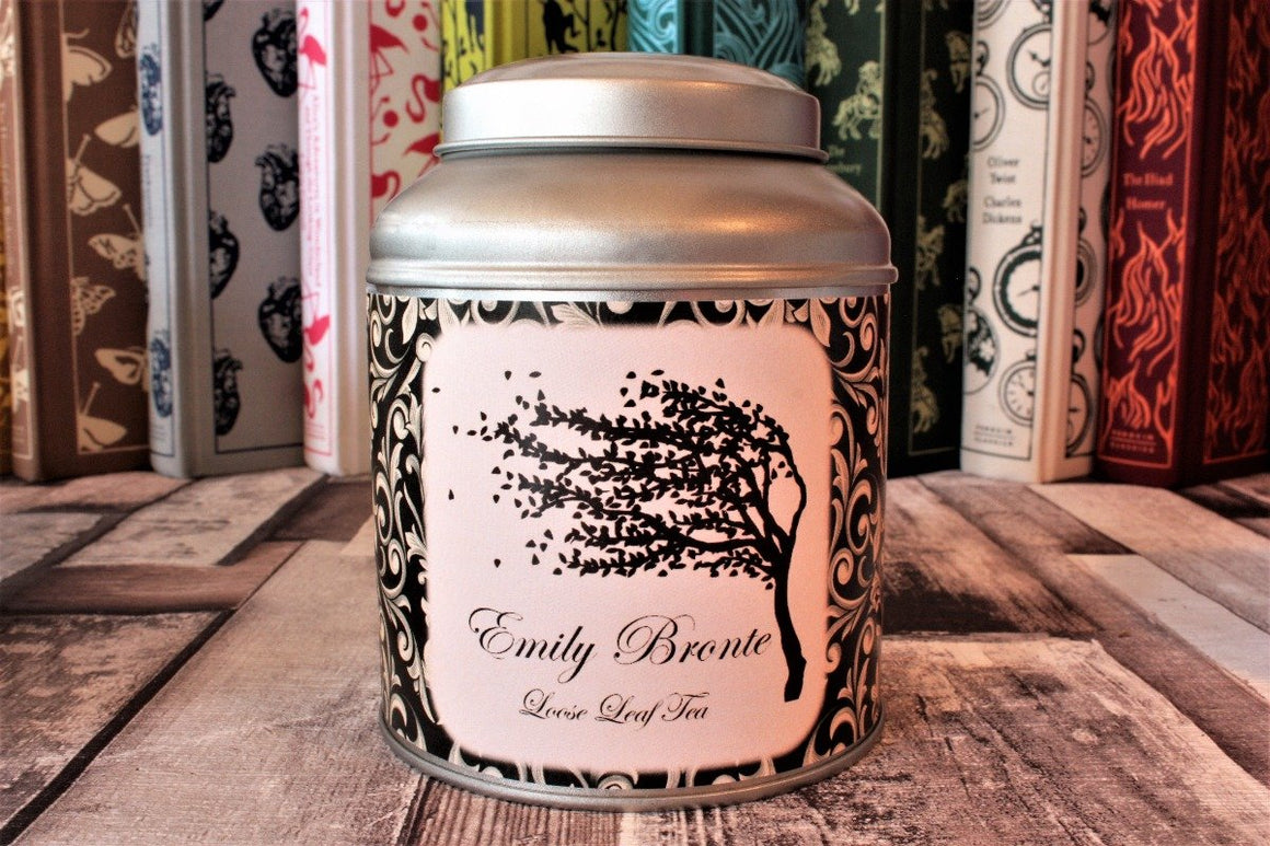 Emily Bronte Tea Caddy Gift