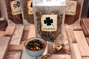 pack of Felix Felicis loose tea inspired by harry potter