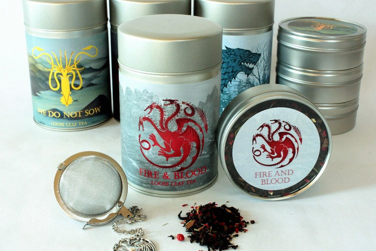 Fire & Blood - House Targaryen Inspired Loose Leaf Tea