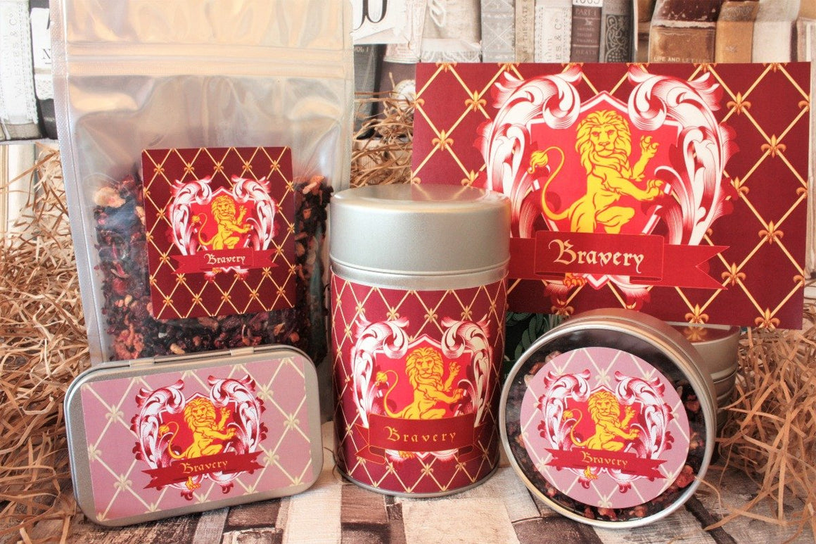 Gryffindor Inspired Loose Leaf Tea