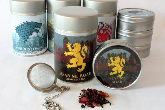 Hear Me Roar! - House Lannister Inspired Loose Leaf Tea