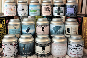 tea gift tin collection