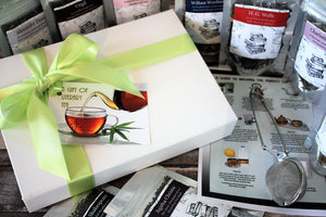 Literary Tea Box - Selection of Authors and Poets