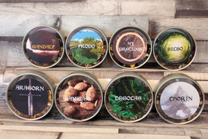 lord of the rings tea tins