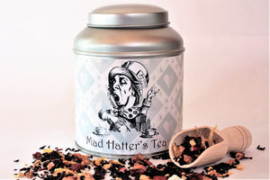 Mad hatter Domed Tea Caddy