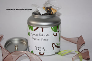 Personalise your tea caddy for a unique gift 1