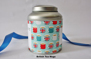 Personalise your tea caddy for a unique gift - tea mugs