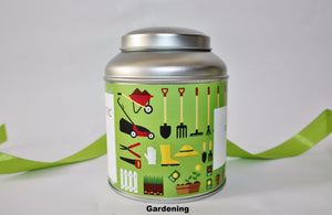 Personalise your tea caddy for a unique gift - gardening