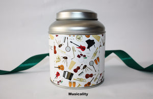 Personalise your tea caddy for a unique gift - music