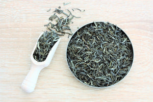 pure green loose leaf tea