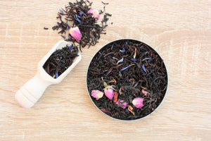 rose violet loose leaf tea