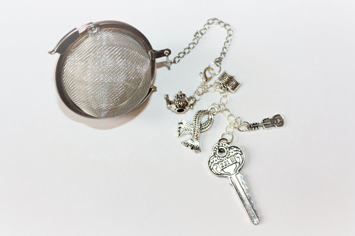 Sherlock Inspired Tea Infuser - Stainless Steel Tea Ball