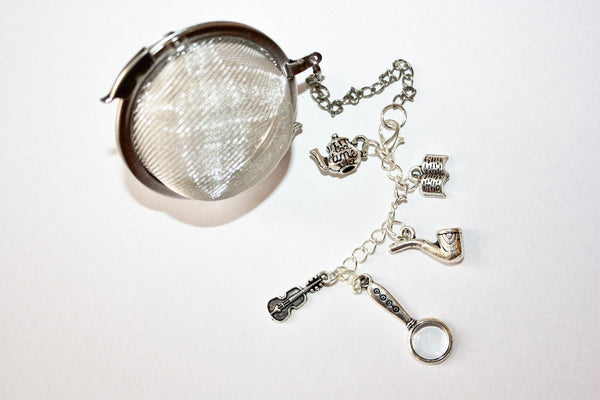 Sherlock Holmes Inspired Tea Infuser - Stainless Steel Tea Ball