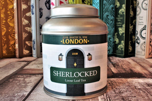 Sherlock Domed Tea Caddy
