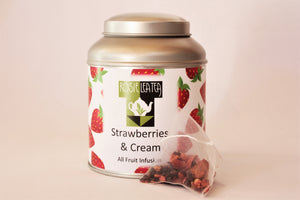 Strawberries and Cream Pyramid Teabags