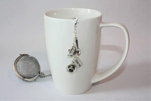 Tea Lovers Tea Infuser With Removable Charm - Tea Gift