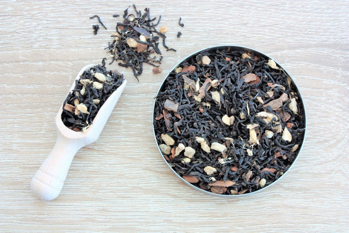 vanilla chai black loose leaf tea