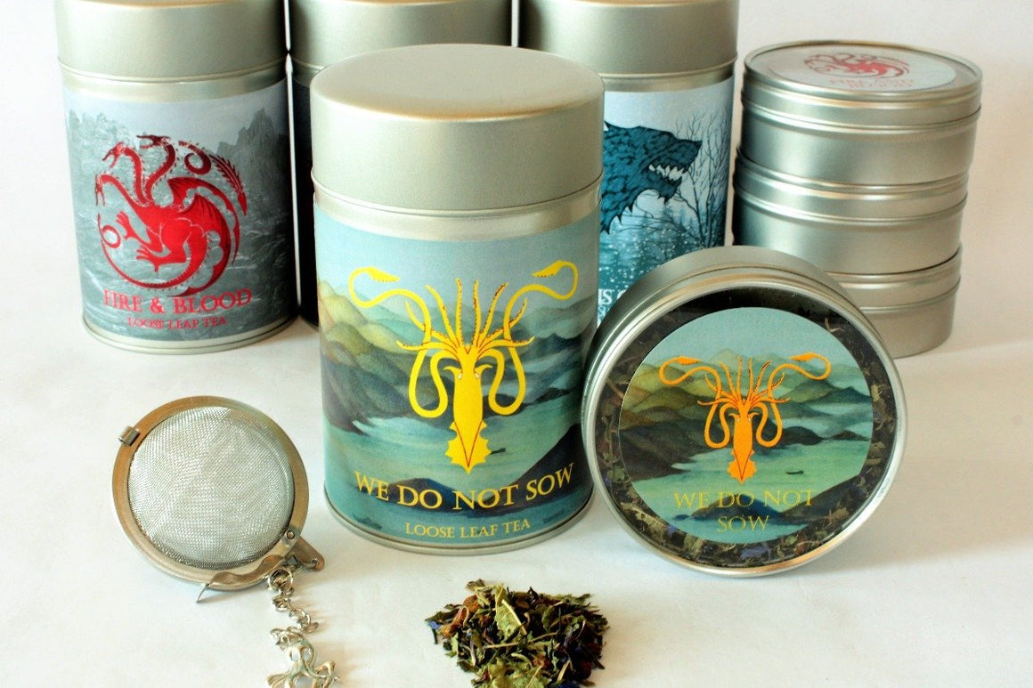 We Do Not Sow - House Greyjoy Inspired Loose Leaf Tea