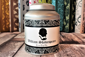 William Shakespeare Tea Caddy