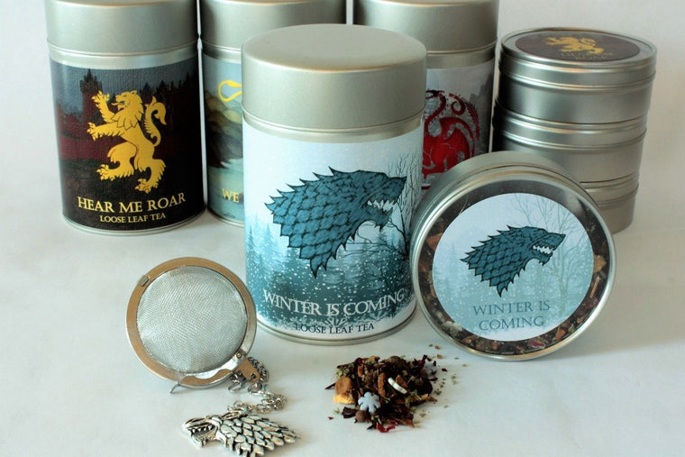 Winter Is Coming - House Stark Inspired Loose Leaf Tea