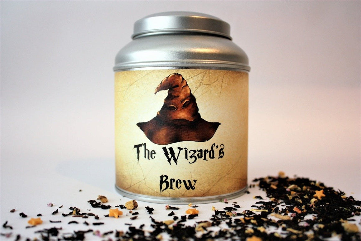 The Wizard's Brew Tea Caddy Gift - Harry Potter Inspired Tea Caddy