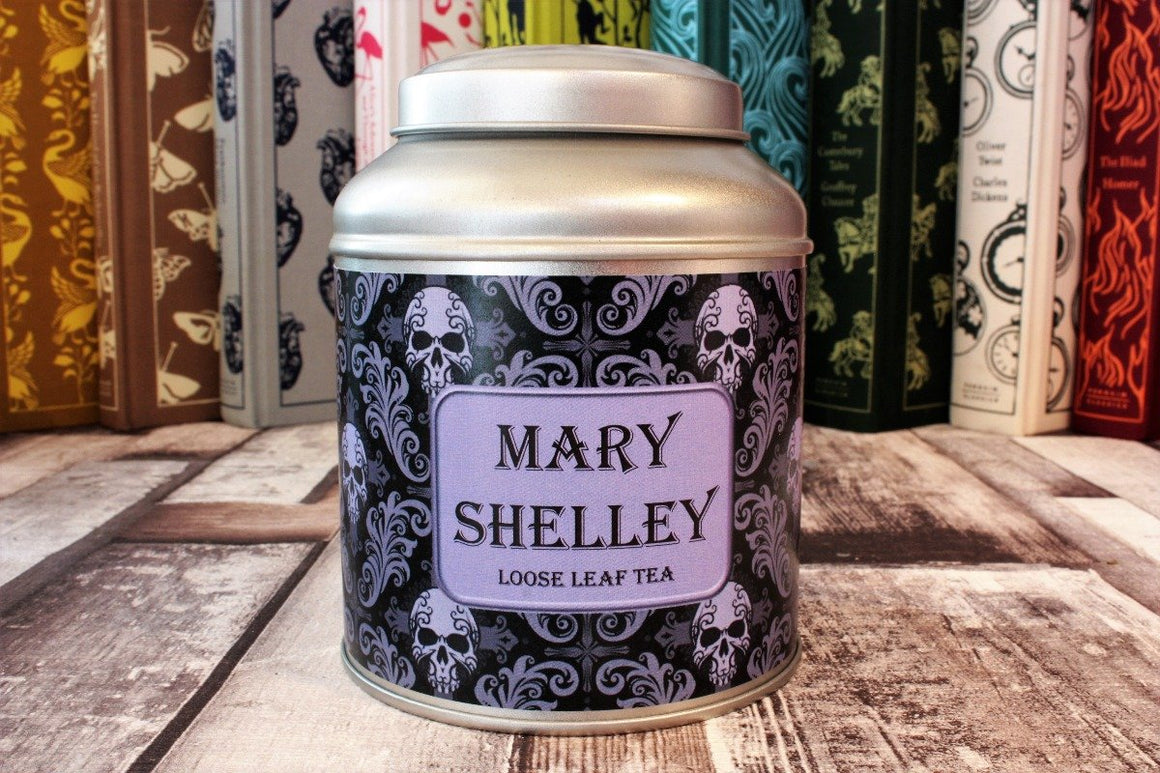 Mary Shelley Domed Tea Tin