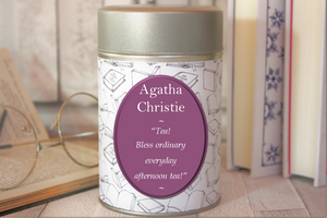 Agatha Christie Inspired Tea - Literary Gift