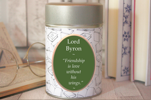 Lord Byron Inspired Tea - Author - Literary Gift