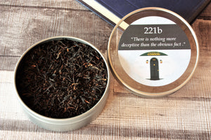 Sherlock Inspired Tea -Gift Tins