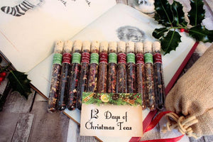12 days of christmas teas