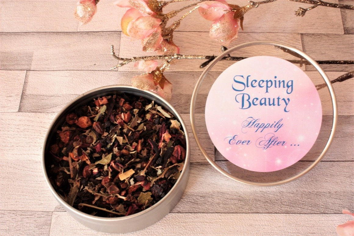 Sleeping Beauty Tea Gift Tin