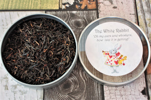 the white rabbit loose leaf tea