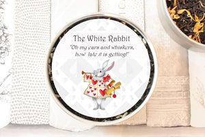 the white rabbit tea gift tin