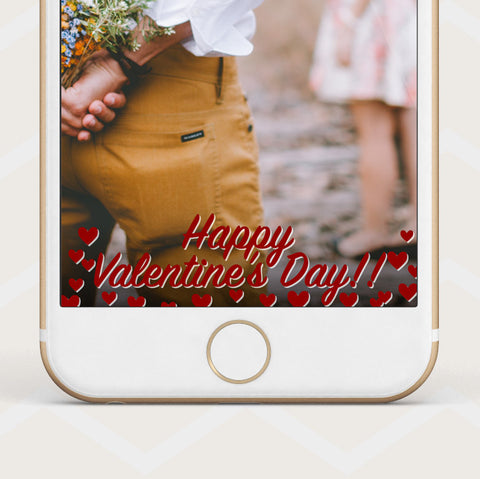 Instant Download - Valentine's Day Geofilter