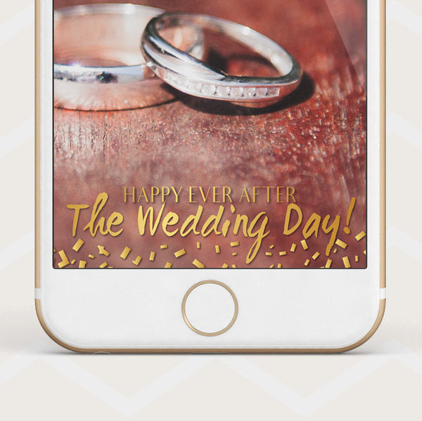 Instant Download - Wedding Geofilter