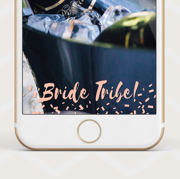 Instant Download Bride Tribe - Snapchat Geofilter