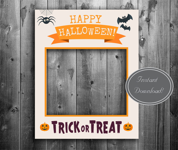 Halloween Photo Poster Frame