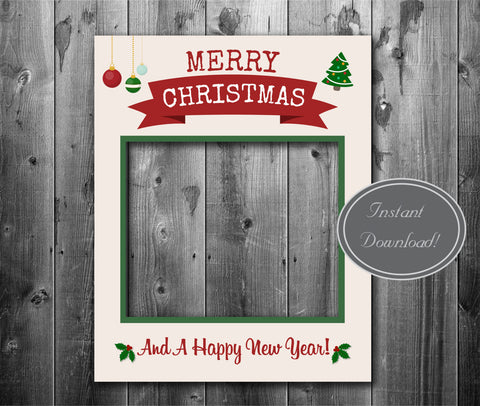 Chic Style Christmas Giant Photobooth Frame