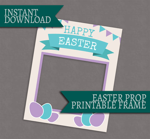 Easter Photo Poster Photobooth Frame Prop
