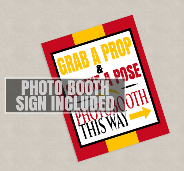 35 x Spain Theme Photobooth Props for Spanish events