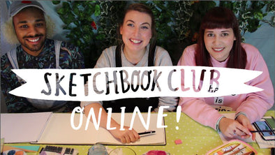 Sketchbook Club Online!
