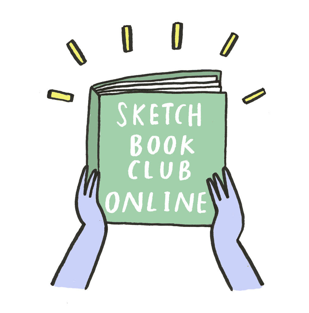 Sketchbook Club Online, and what we're up to...