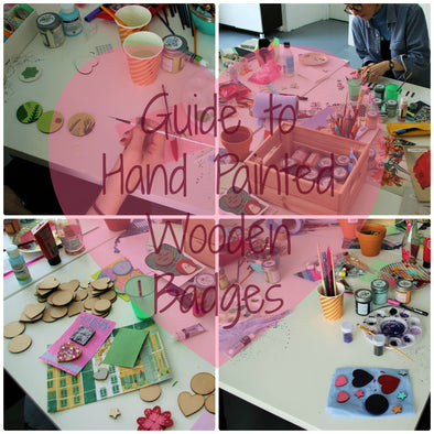 The Guide to Hand Painted Badges Workshop