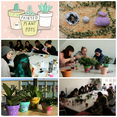 The Guide to Making Plant Pots Workshop